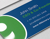 99Binery Business Card