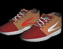 Prototype: Sport Shoes with Batik Pattern