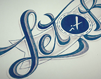 """Let It Be"" Tattoo Design"