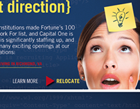 Capital One Internet Banner Campaign
