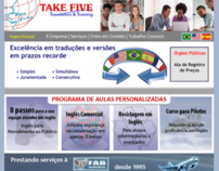 TAKE FIVE Website