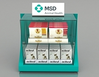 3D Displays to MSD Animal Health