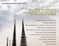 Watts Towers Common Ground Initiative
