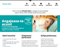 PrivateChat responsive design