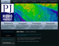 PJ Hidrográficos Website