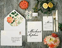 Lush Summer Wedding Design