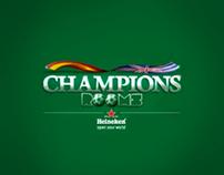 Heineken Champions Room