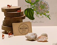 Natur Toys, stationary design and art direction