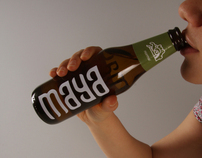 'MAYA' beer packaging