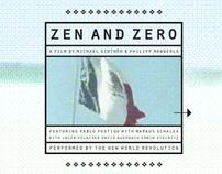 Zen and Zero → Editorial Design