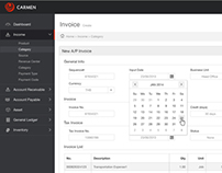 Carmen | Web Interface