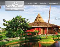 Vila Galé Website Layout