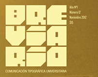 Breviario - Comunicación Tipográfica Universitaria