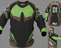 Paintball jersey builder web app