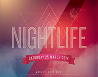 Nightlife Flyer Template