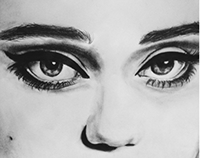 Desenho Sky Ferreira / Sky Ferreira drawing