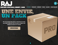 RAJ paintball website