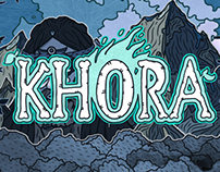 Khora. Card game.