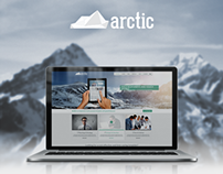 Arctic - Responsive HTML5 Template