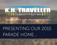 K.H. Traveller Custom Homes Parade of Homes 2015