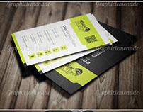 Paquete de Tarjetas de Visita Profesionales