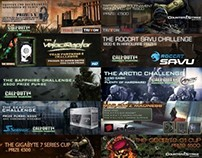 Banner Graphics for Esports Tournaments and Articles