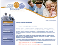 Web Design for COMMbits Inc./Family Caregiver