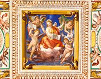 Vatican Museum Ceilings