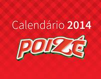 Calendário de 2014 - Poizé