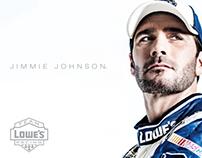 2014 TeamLowe'sRacing Hero Cards for Jimmie Johnson