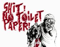 Shit! No Toilet Paper!
