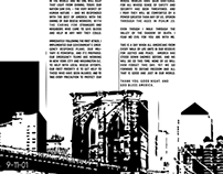 9-11-01 Typographic Poster Tribute