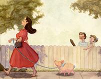 A Stroll with Petunia