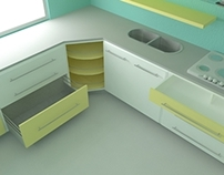 MELBLAN - KITCHEN FURNITURE