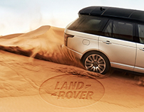 Launch New Range Rover / Web Site