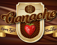 Ganache - a script font perfect for  packaging