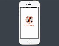 UX/UI- TYPEZASTIC