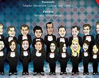 Ilustração Formandos Design USC 2013