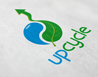 Upcycle logo design