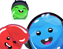 Cute Jelly Characters (for Sale)