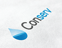 Conserv Water logo design