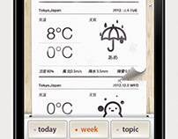 Weather apps - Printer