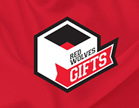 Red Wolves Gifts Logo
