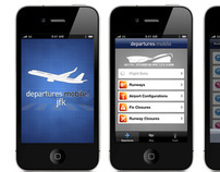 departures - an iPhone concept App