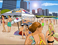 Event Marketing Illustration