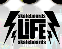 Life Skateboards (Decks)