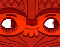 Crimson Barbarian