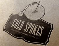 """""""Gold Spokes"""" Logo + Branding"""