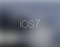 iOS7 MINIMALIST CONCEPT