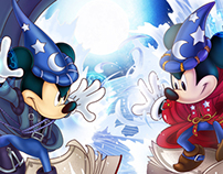 Sorcerer Mickey Battle